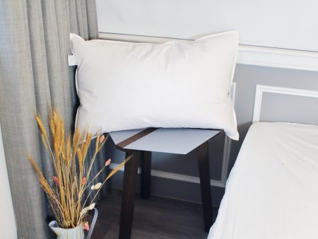 枕頭 / 天然水鳥羽絨枕 100%純棉 台灣製造