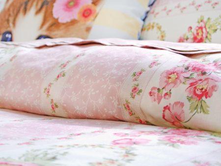 床包 / 特大雙人 印花設計款 / 田園小碎花 100%精梳棉  特大雙人床包含二個枕套