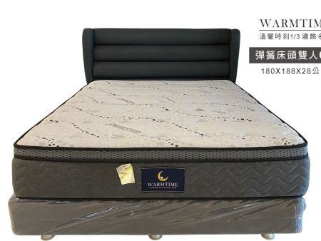 獨立筒床頭 / 床頭片 現代簡約-雙人加大6尺