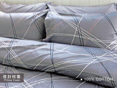 枕頭套 / 1入 100%精梳棉 美式信封枕