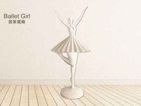 北歐風擺飾 / 居家美學 設計感小物 Ballet Girl